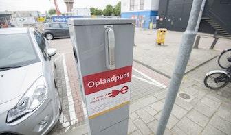 Hier in Utrecht komen in de toekomst laadpalen te staan