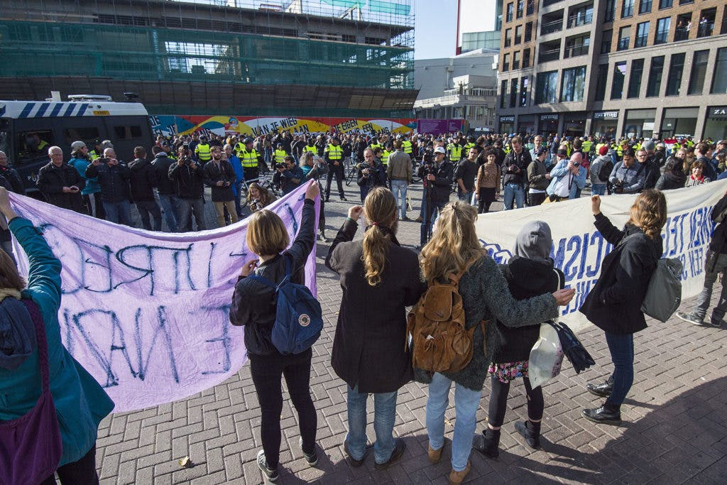 Utrecht verbiedt protestoptocht tegen vluchtelingenopvang door het centrum