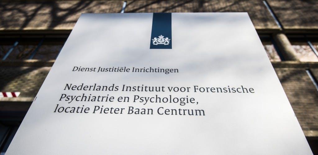 Michael P. viel niet drie maar vijf mensen aan in Pieter Baan Centrum