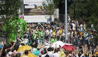 Grand Départ in Utrecht groot succes: de stad werd door bijna 1 miljoen mensen bezocht