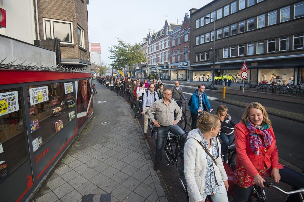Wethouder Lot van Hooijdonk: verkeerslicht oversteek Maliebaan functioneerde niet goed