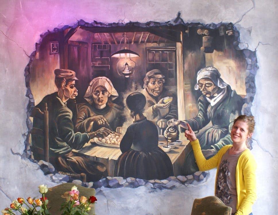 Zzp'er in Utrecht – Susan Mertens: 'Een muurschildering geeft smoel aan een ruimte.'