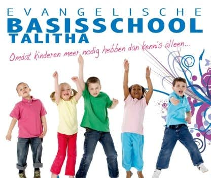 Evangelische basisschool talitha in utrecht moet ook for Evangelische school