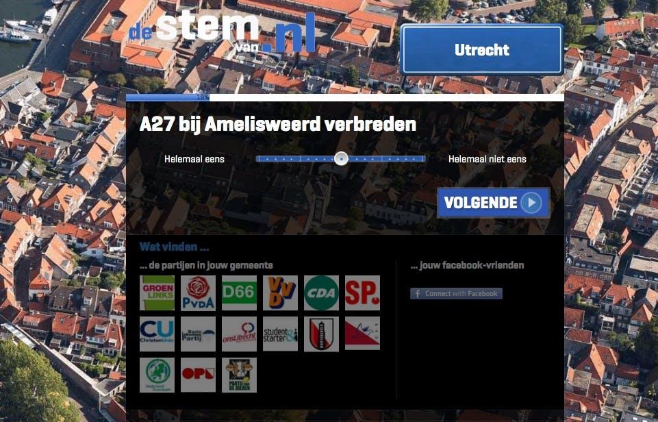 De stem van Utrecht: De A27 bij Amelisweerd moet verbreed worden