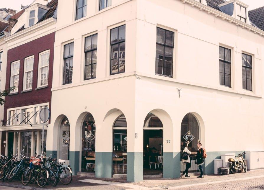 """Snel, gezond en bewust eten bij 'Gys' op Voorstraat: """"Wij zijn uniek in Utrecht"""""""