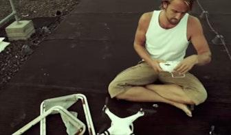 Maker drone-filmpje Jelte Keur verguisd en geprezen op internet