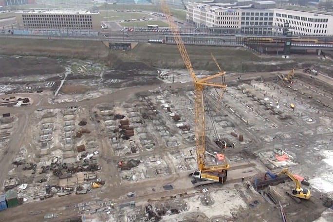 Dronefilmpje Leidsche Rijn Centrum laat zien dat er nog veel moet gebeuren