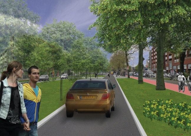 't Goylaan wordt stadsboulevard: zo moet het eruit gaan zien