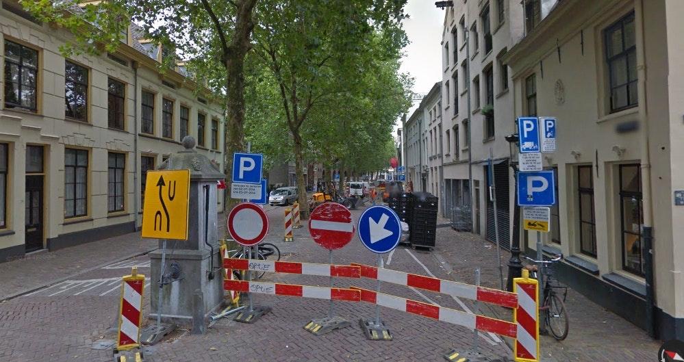 Deel Breedstraat vanaf maandag afgesloten voor verkeer; lapjesmarkt blijft bereikbaar