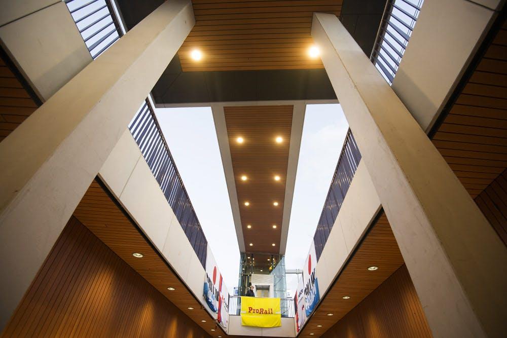 Foto's: Station Vaartsche Rijn in wording