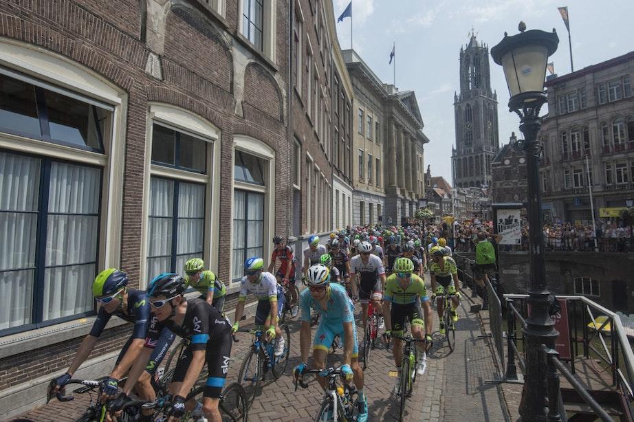 Foto's: Zo beleefde Utrecht de Tour de France