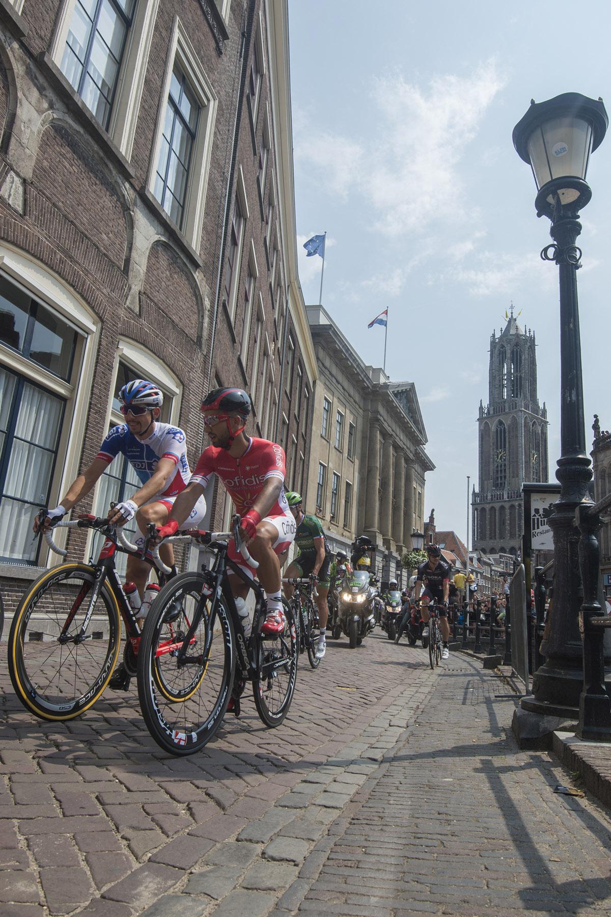 Tweede etappe door de historische binnenstad