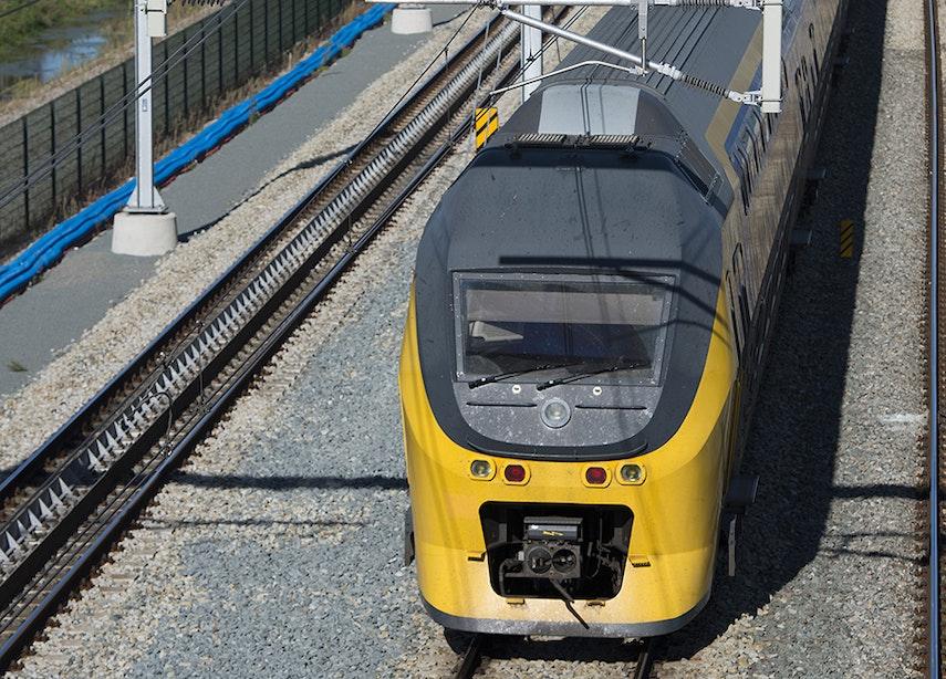 Geen treinen tussen Overvecht en Hilversum door blikseminslag