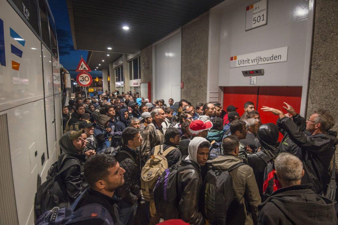 Opvang vluchtelingen kost Utrecht ruim een ton