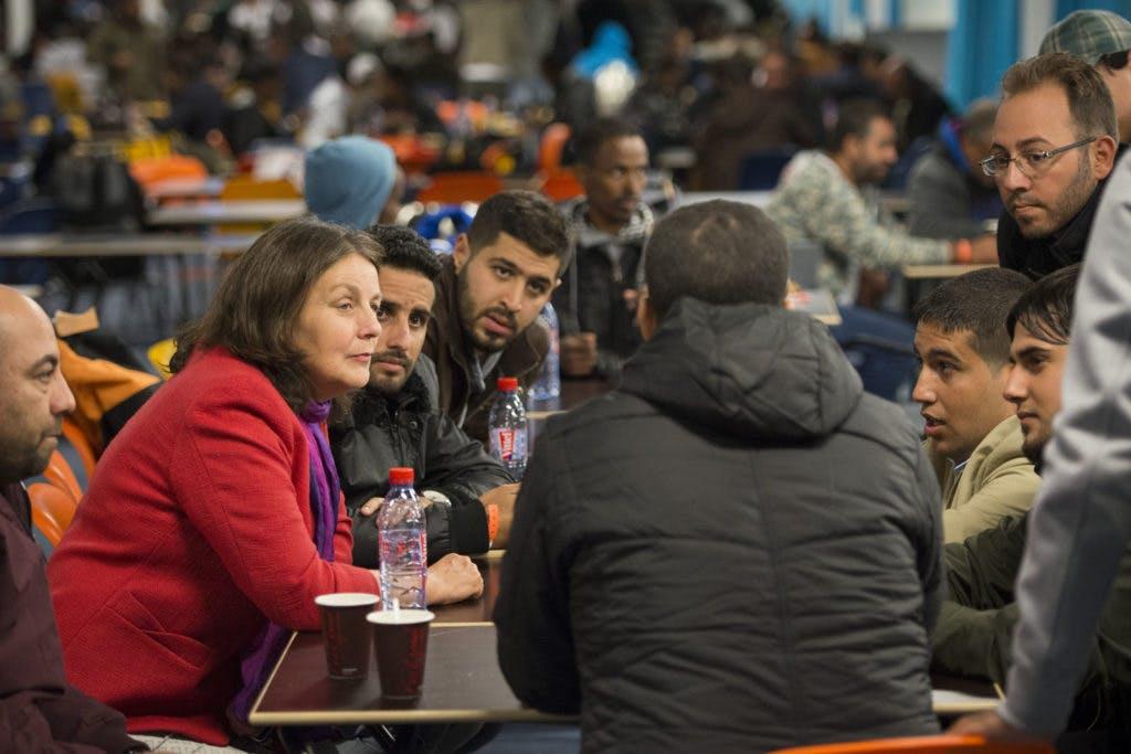 """Groot vluchtelingenfeest in de Jaarbeurs 18 december: """"Er komen veel mooie mensen naar ons toe"""""""