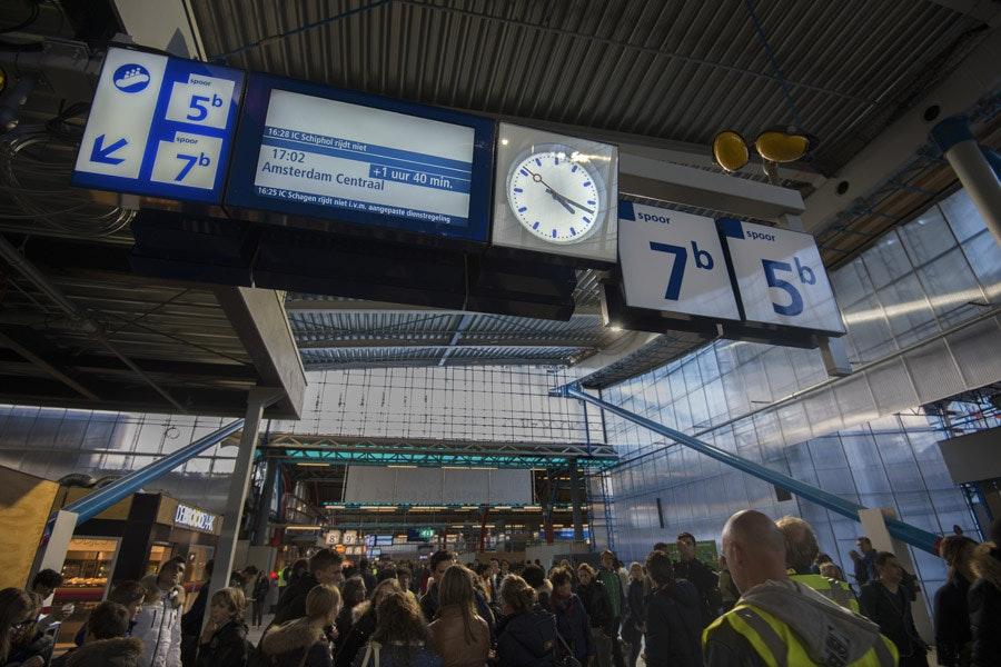 Veel vertraging deze ochtend tussen Utrecht en Amsterdam Centraal