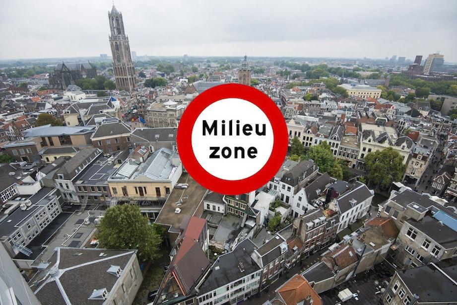 Wethouder Van Hooijdonk is nog altijd positief over de milieuzone