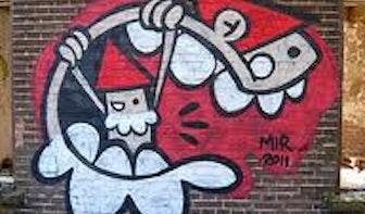 Gemeente komt gratis graffiti van muren spuiten