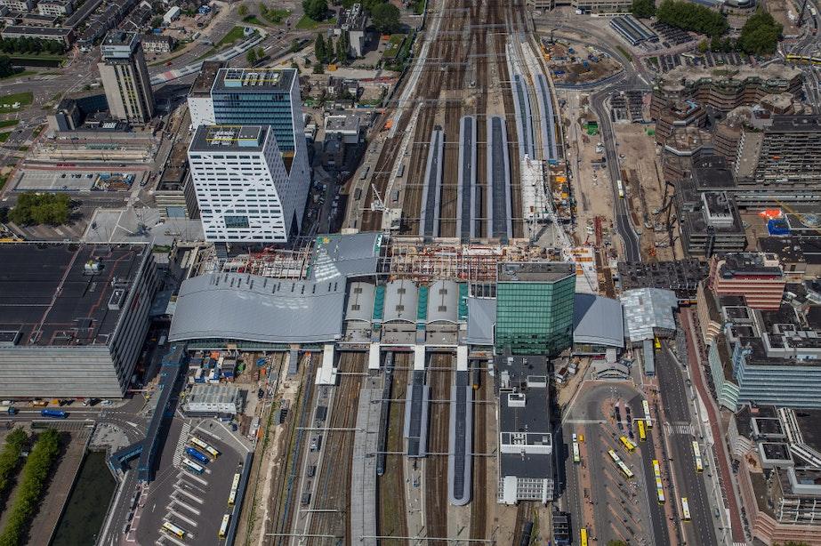 Werkzaamheden rond Utrecht Centraal verlopen volgens schema