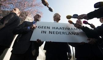 Foto's: Geert Wilders demonstreert tegen haatimams in Utrecht