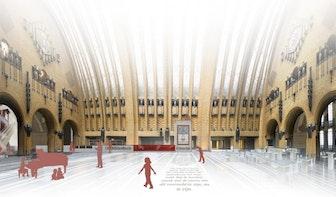 """Bibliotheek op de Neude wordt ingericht door Utrechtse architecten: """"Gebouw teruggeven aan stad"""""""