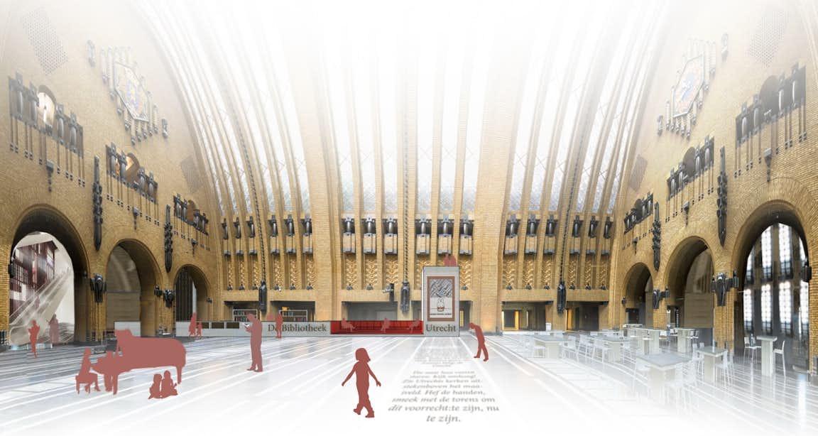 Bibliotheek op de neude wordt ingericht door utrechtse for Interieur ontwerpen app