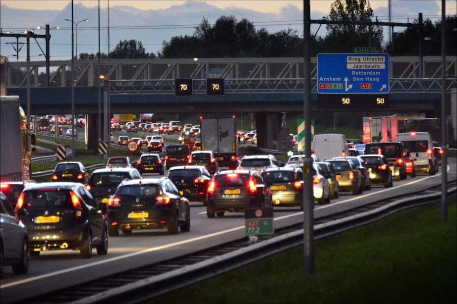 Positief bijeffect coronamaatregelen: aanzienlijk minder vertraging rond Utrecht