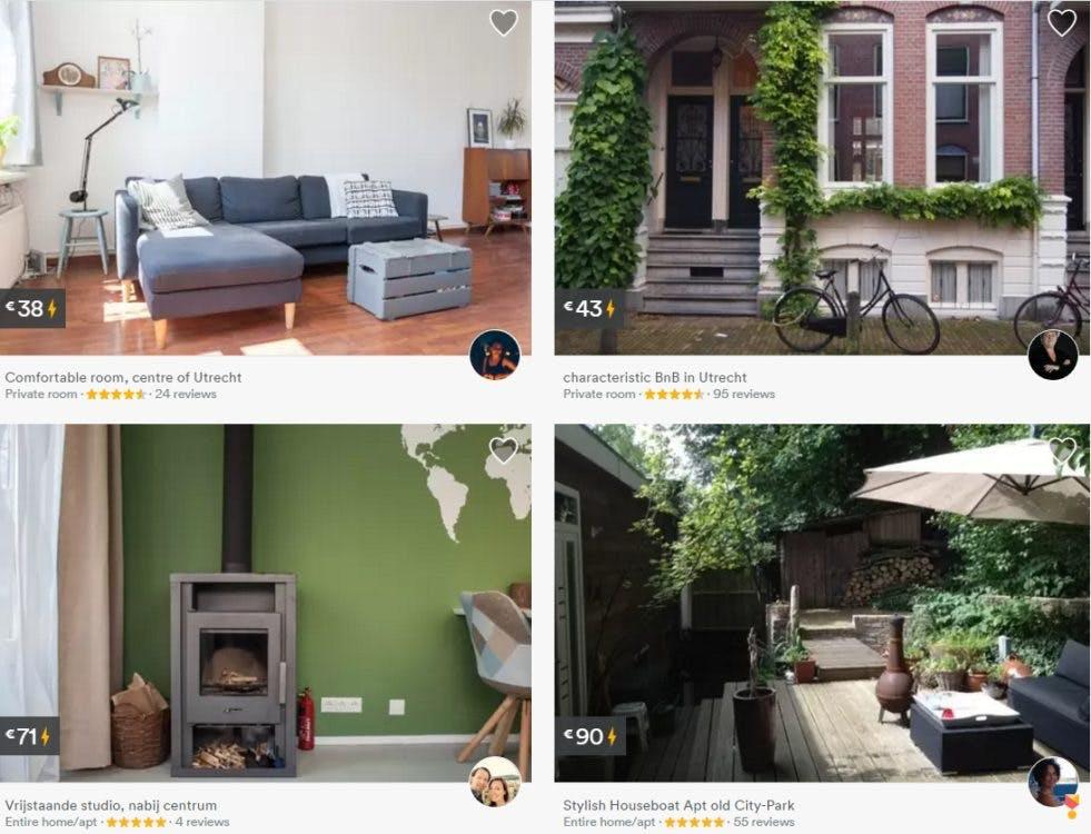 Grote kans op toeristenbelasting voor verhuurders Airbnb-kamers Utrecht