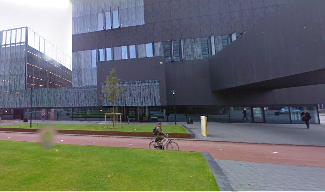 Brand in universiteitsbibliotheek op de Uithof