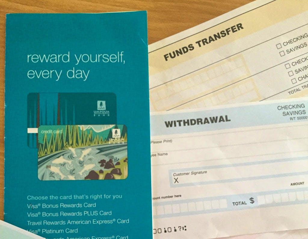 Groet uit Portland: money orders & cheques