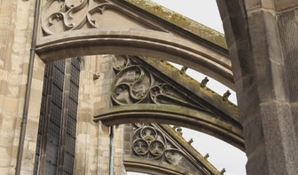 Luchtbogen Domkerk kunnen gerestaureerd worden na geslaagde crowdfundingactie