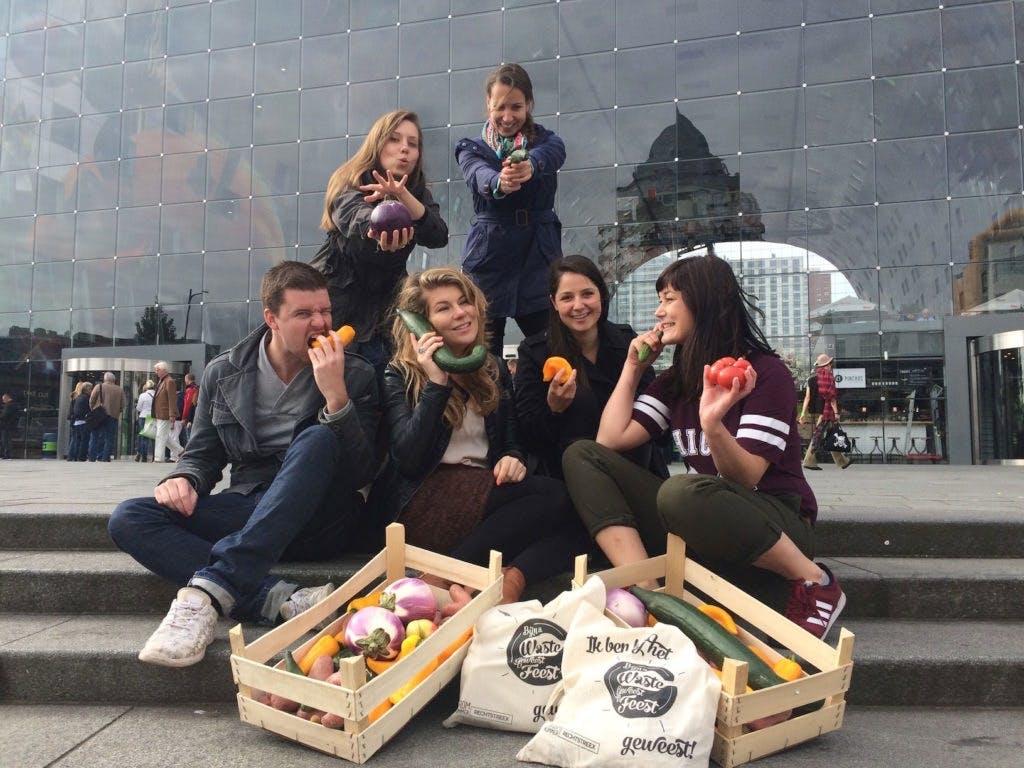 """Het weekend van Chantal Engelen, van Bijna Waste Geweest Feest: """"Bizar om groentes te beoordelen op schoonheid"""""""