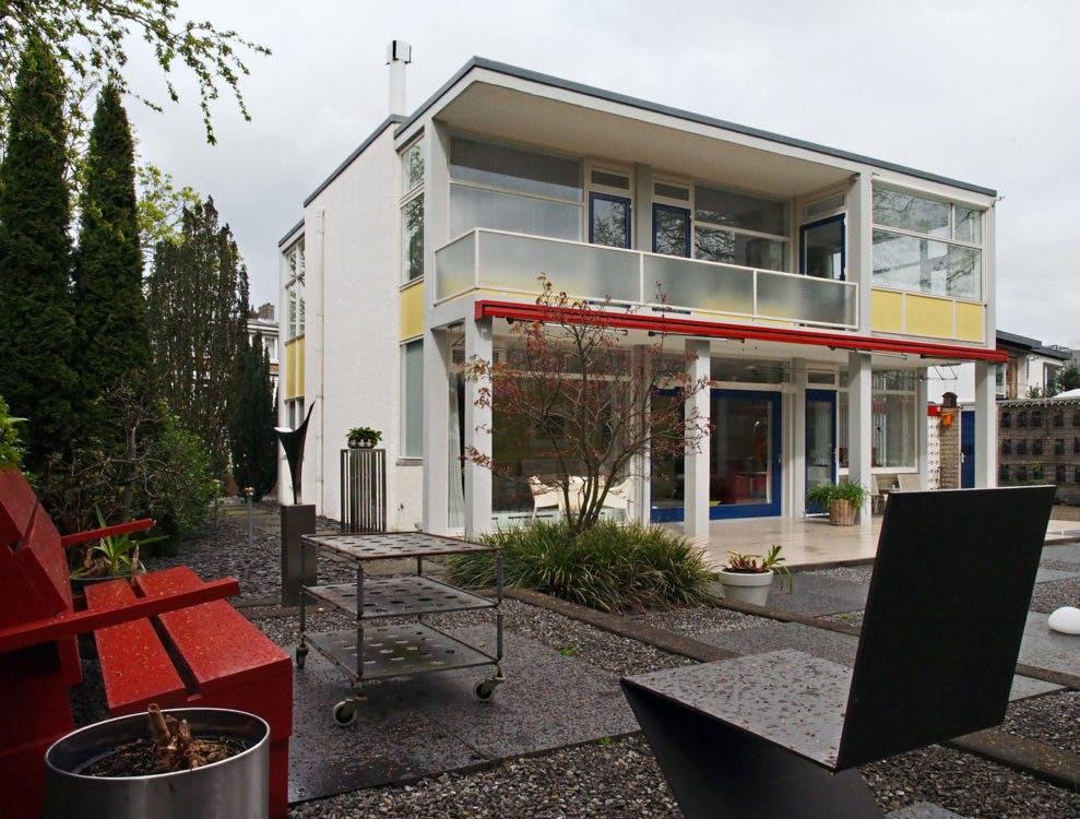 Woning Theissing: een Rietveldhuis aan de Kromme Rijn