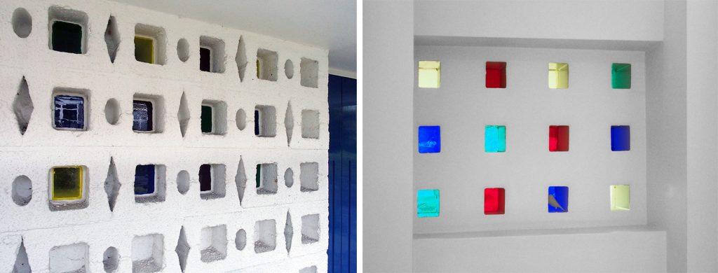 Patroon en glas in B2-blokken, buiten en binnen (Arjan den Boer)