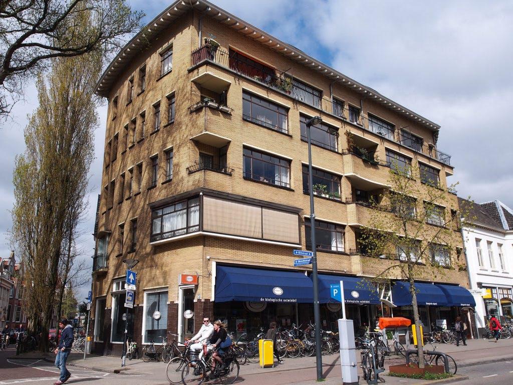 Flatgebouw Biltstraat: 'geel kasteel' met een oorlogsverleden