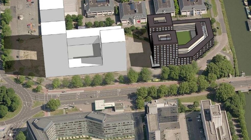 Plannen voor woningbouw naast City Campus Max