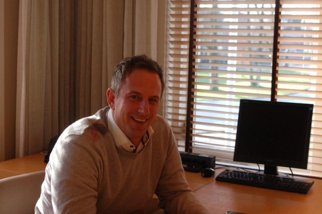 """Marcel Arendsen van Brecheisen Makelaardij: """"Dat kapotgaan op de fiets, ik hou daarvan"""""""