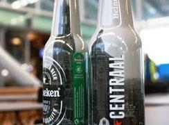 Heineken maakt speciale Utrecht bierflesjes voor één van de nieuwe zaken op Utrecht Centraal