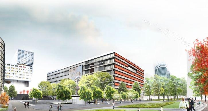 Grote verbouwing Jaarsbeursplein gaat beginnen