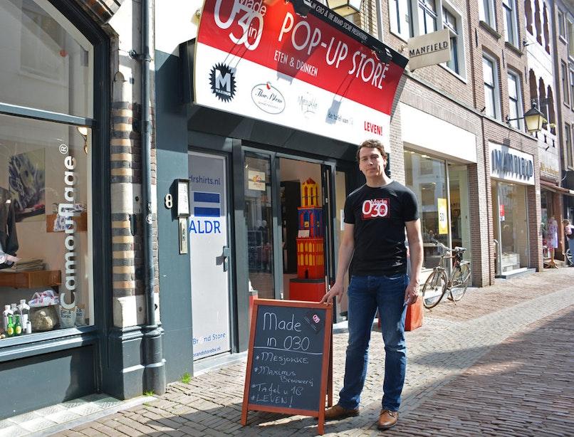 'Made in 030' heeft na pop-up store nu ook nieuwe website met alleen maar Utrechtse producten