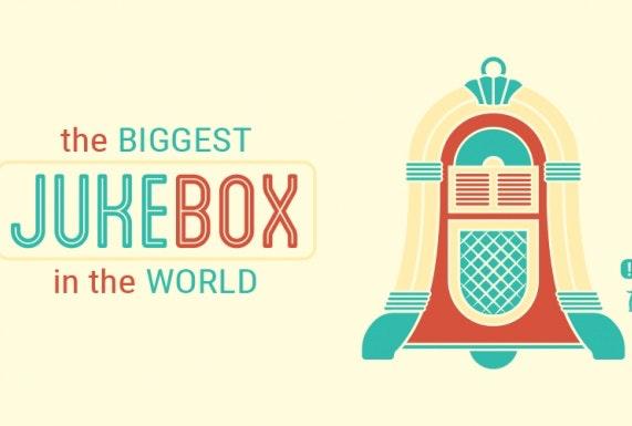 Zaterdag is de Domtoren even de grootste jukebox van de wereld
