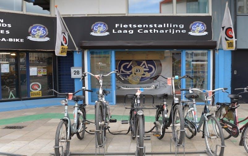 Nieuwe fietsenstalling bij Laag Catharijne