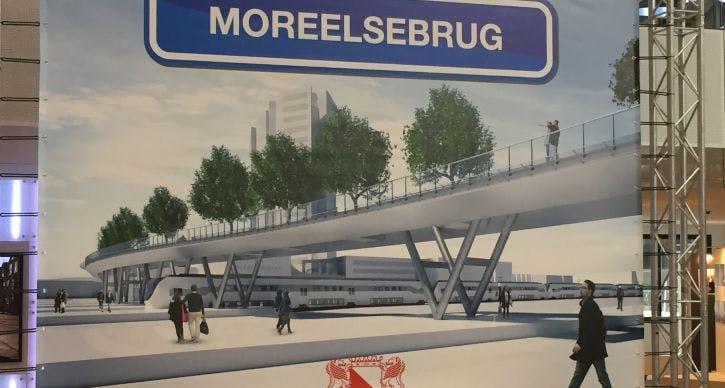 Officiële naam Rabobrug bekend: Moreelsebrug