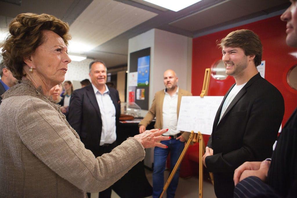 Neelie Kroes lanceert digitaal platform StartupUtrecht