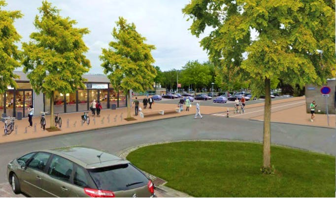 Gemeente wil studentenwoontoren en honderden appartementen midden in Overvecht