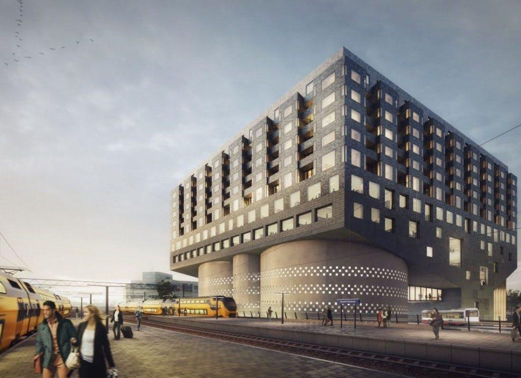 Ook 't Hoogt stuurt open brief: er is geen alternatief voor bouw Bibliotheek++ en Artplex