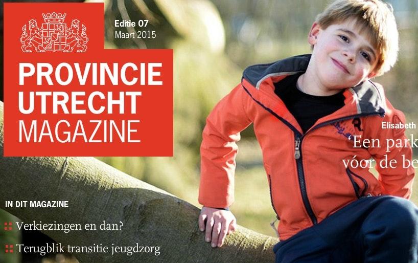 Ontdek de nieuwe editie van Provincie Utrecht Magazine
