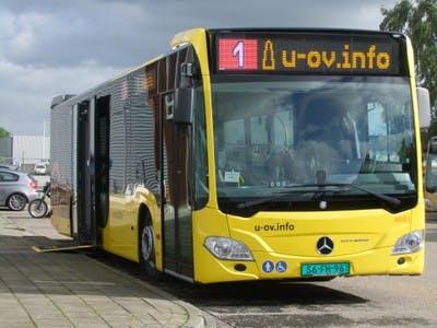 Geen bussen en trams donderdagochtend in Utrecht vanwege staking personeel; Qbuzz naar rechter