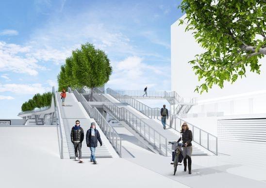 Gemeente Utrecht en Klépierre tegenover elkaar in rechtszaal om perrontrappen Moreelsebrug