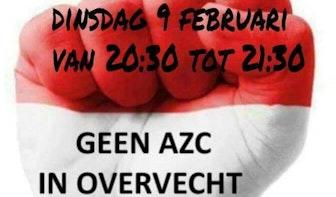 """Morgenavond demonstratie tegen noodopvang Overvecht bij Stadhuis: """"Slechtste keus ever"""""""